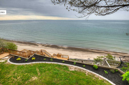 Waterfront Beach Home Cottage Located On Lake Erie In Port Colborne, ON